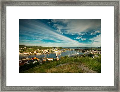 Mandal Summertown Framed Print