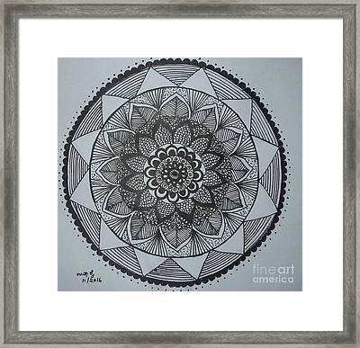 Mandal Framed Print
