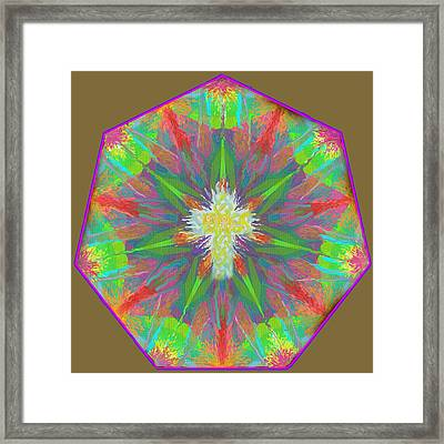 Mandala 1 1 2016 Framed Print