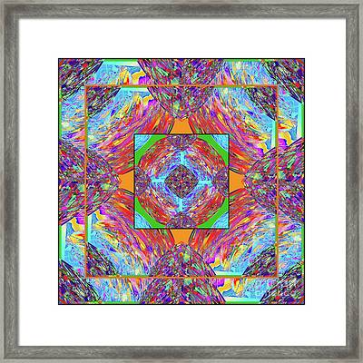 Mandala #1 Framed Print by Loko Suederdiek