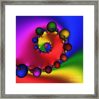 Mandala 157 Framed Print by Rolf Bertram