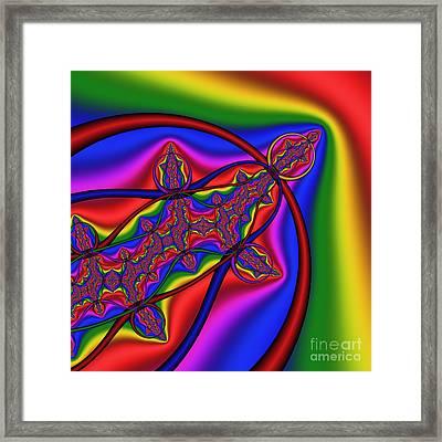Mandala 161 Framed Print by Rolf Bertram