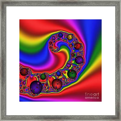 Mandala 162 Framed Print by Rolf Bertram