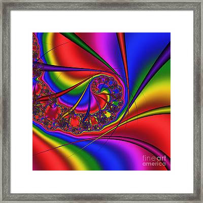 Mandala 163 Framed Print by Rolf Bertram