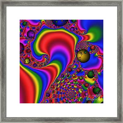 Mandala 165 Framed Print by Rolf Bertram