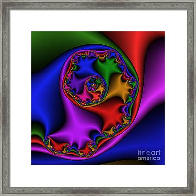 Mandala 169 Framed Print by Rolf Bertram