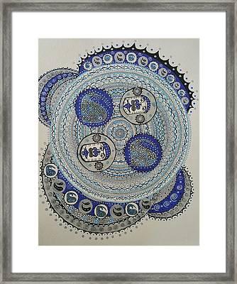 Mandala 2 Framed Print by Annarine Chapman