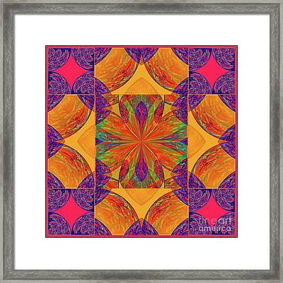 Mandala #2  Framed Print by Loko Suederdiek