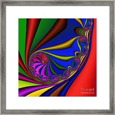 Mandala 209 Framed Print by Rolf Bertram