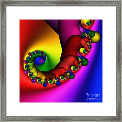 Mandala 211 Framed Print by Rolf Bertram
