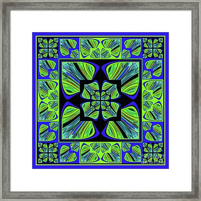 Mandala #22 Framed Print by Loko Suederdiek