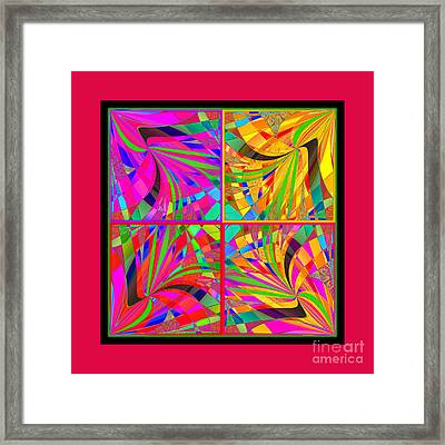 Mandala #25 Framed Print by Loko Suederdiek