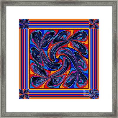 Mandala #3 Framed Print by Loko Suederdiek