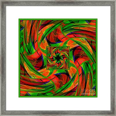 Mandala #36 Framed Print by Loko Suederdiek