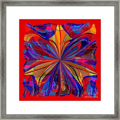 Mandala #4 Framed Print by Loko Suederdiek