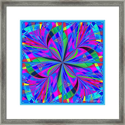 Mandala #46 Framed Print by Loko Suederdiek
