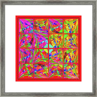 Mandala #48 Framed Print by Loko Suederdiek