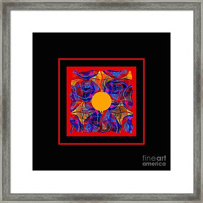 Mandala #5 Framed Print by Loko Suederdiek