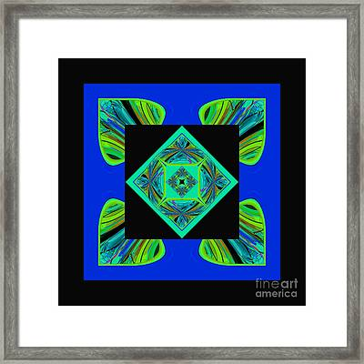 Mandala #6 Framed Print by Loko Suederdiek