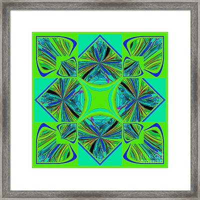 Mandala #7 Framed Print by Loko Suederdiek