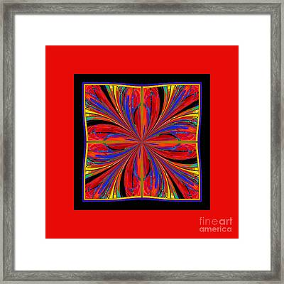 Mandala #8 Framed Print by Loko Suederdiek