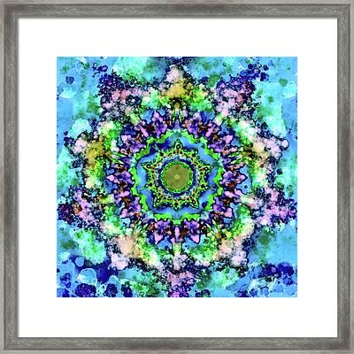 Mandala Art 1 Framed Print