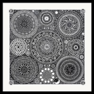 Designed Framed Prints