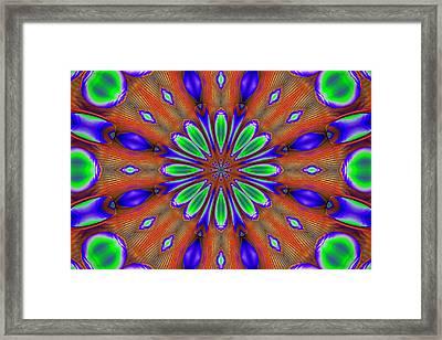 Mandala Design 4 Framed Print