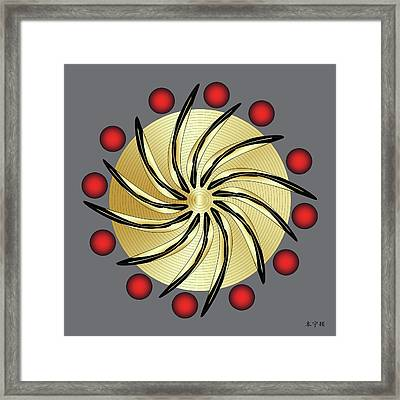 Mandala No. 14 Framed Print