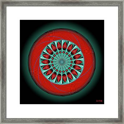 Mandala No. 20 Framed Print
