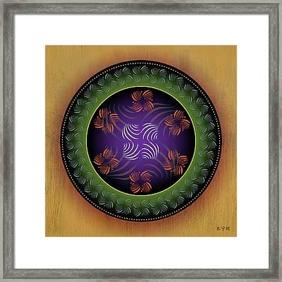 Mandala No. 23 Framed Print by Alan Bennington
