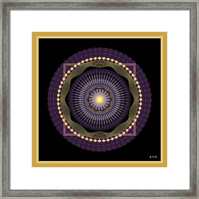 Mandala No. 39 Framed Print by Alan Bennington