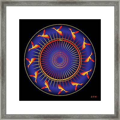 Mandala No. 5 Framed Print