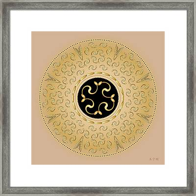 Mandala No. 57 Framed Print by Alan Bennington