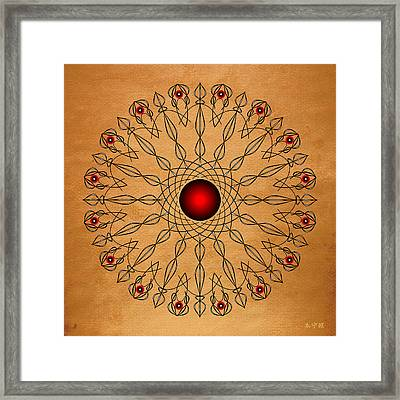 Mandala No. 61 Framed Print