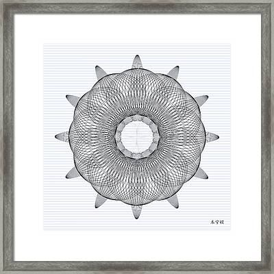 Mandala No. 78 Framed Print