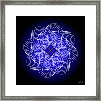 Mandala No. 80 Framed Print by Alan Bennington