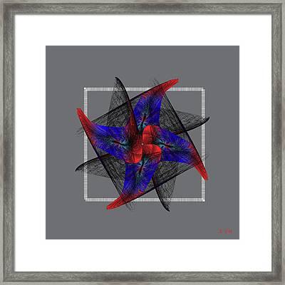 Mandala No. 81 Framed Print by Alan Bennington