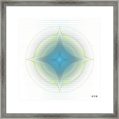 Mandala No. 85 Framed Print by Alan Bennington
