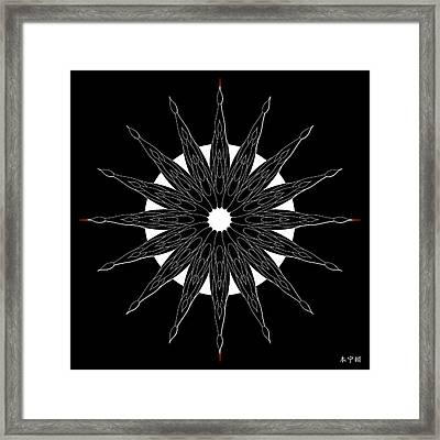 Mandala No. 86 Framed Print