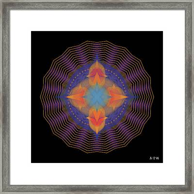 Mandala No. 87 Framed Print