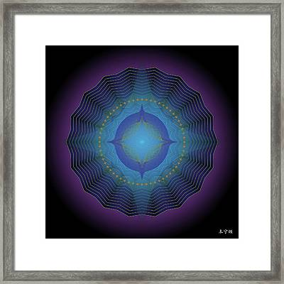 Mandala No. 88 Framed Print by Alan Bennington