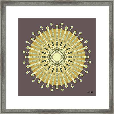 Mandala No. 9 Framed Print