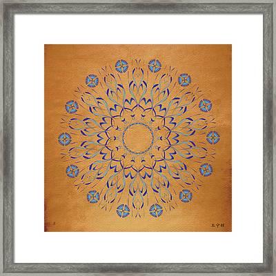 Mandala No. 93 Framed Print by Alan Bennington