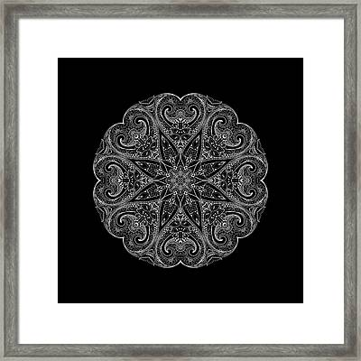 Mandala Framed Print by Susan Link