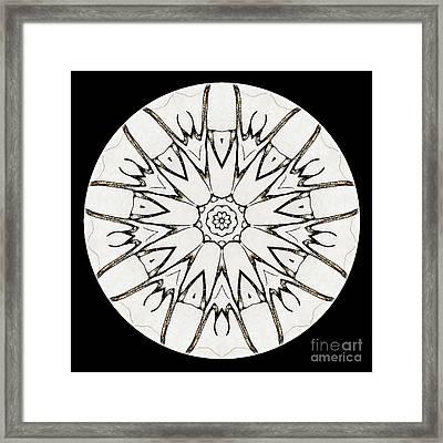 Mandala - Talisman 3779 Framed Print
