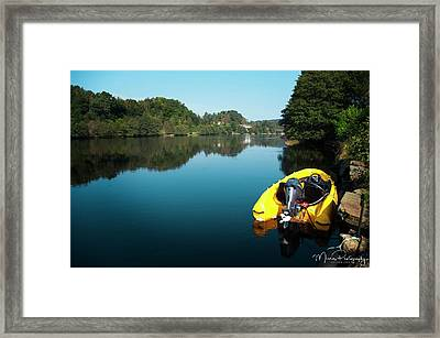Mandalselven Framed Print by Mirra Photography