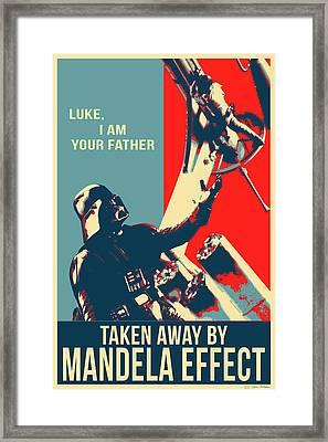 Mandela Effect - Luke I Am Your Father Framed Print