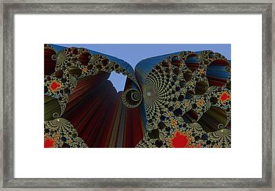 Mandelbrot Madness Framed Print
