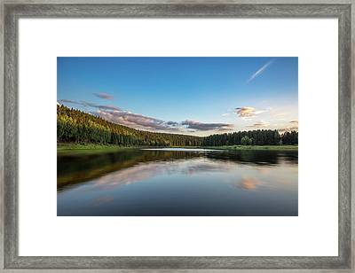Mandelholz, Harz Framed Print